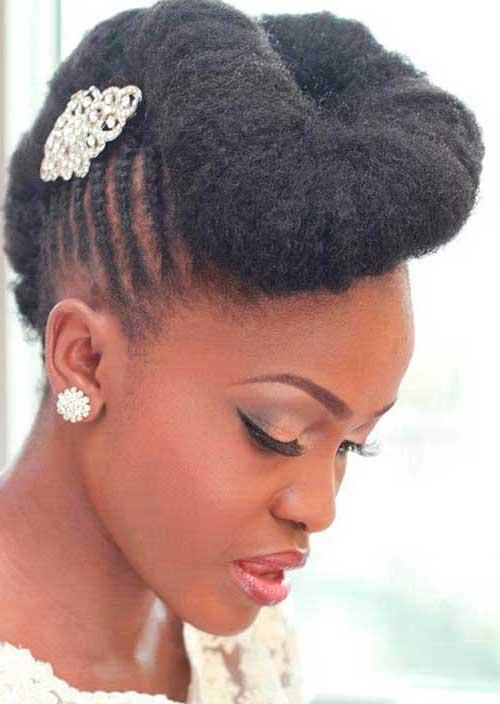 cabelo lateral torcido de noiva