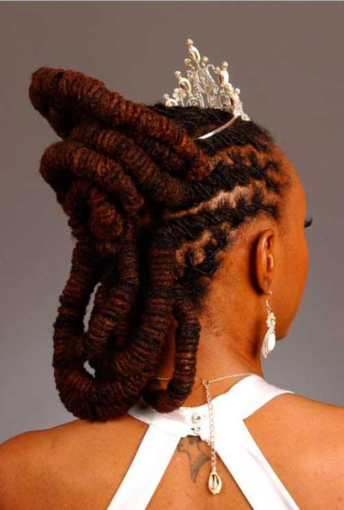 noivas usando dreads