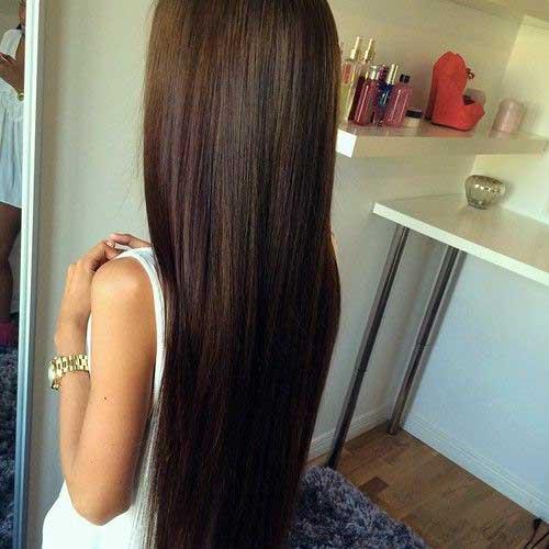 cabelo alisado com escova definitiva