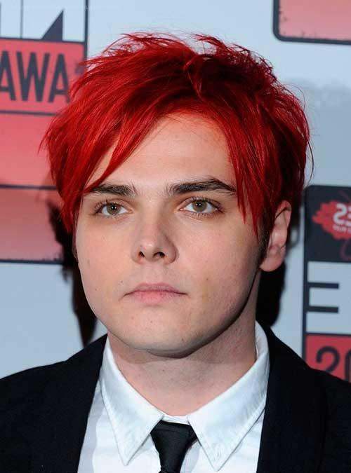 cabelo vermelho masculino