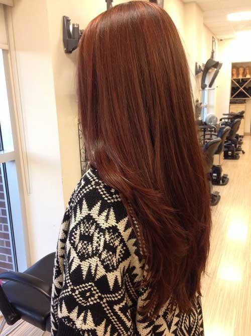 cabelo mel avermelhado