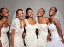 mulheres se casaram felizes