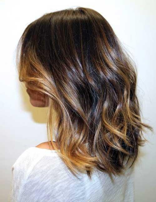 cabelo com ondas medias bonitas