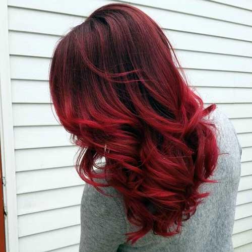 vermelho cor cereja