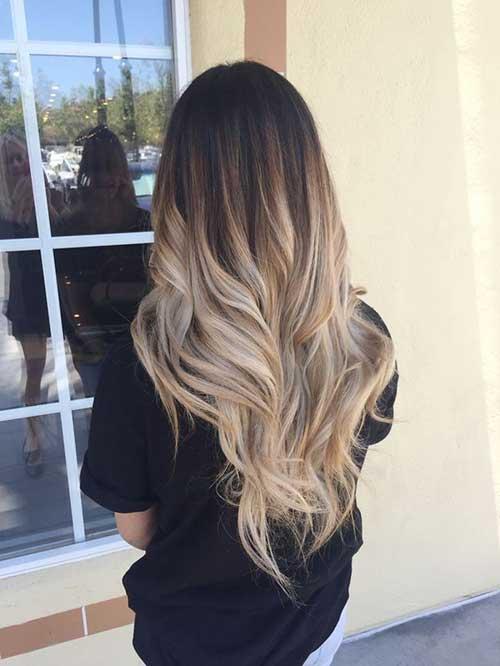 dark blonde ombre hair color balayage selber machen und 54 trend looks frisurentrends. Black Bedroom Furniture Sets. Home Design Ideas