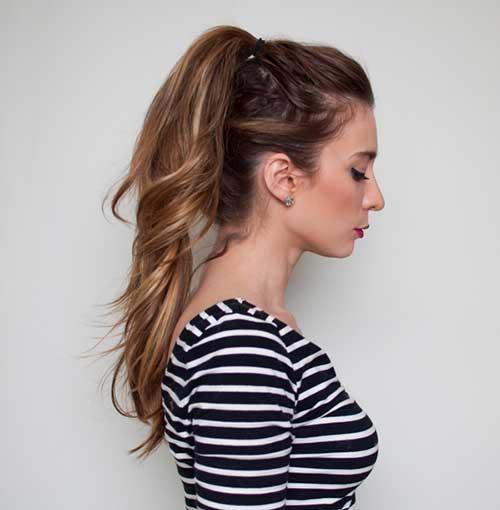 penteado para cabelo longo da moda com trança