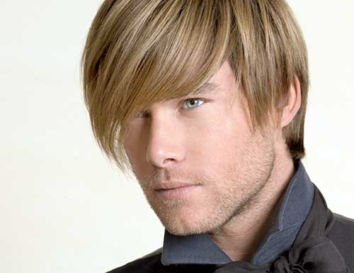 cabelo loiro masculino alisado definitivamente