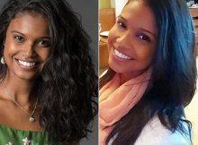 antes e depois de fazer alisamento caseiro pra cabelos crespos