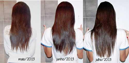 resultados em tres meses diferente