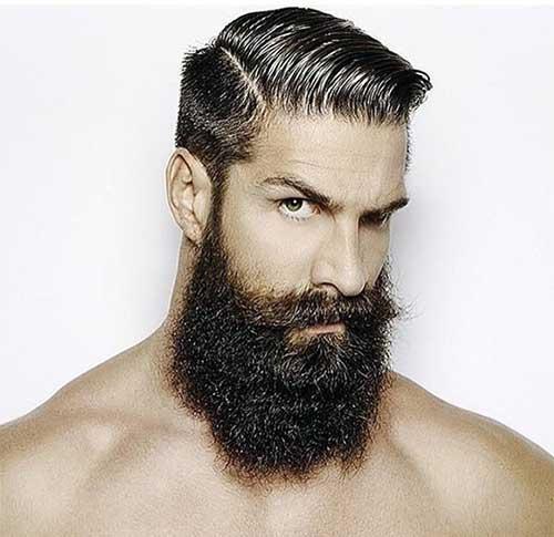 masculino com barba