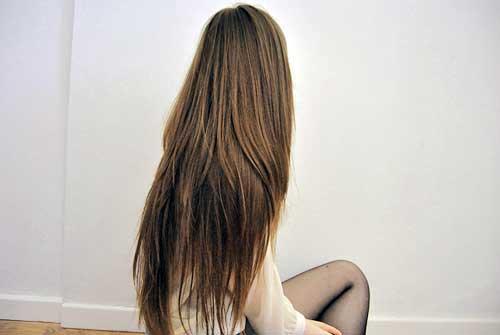 cabelos bonitos que cresceram com facilidade