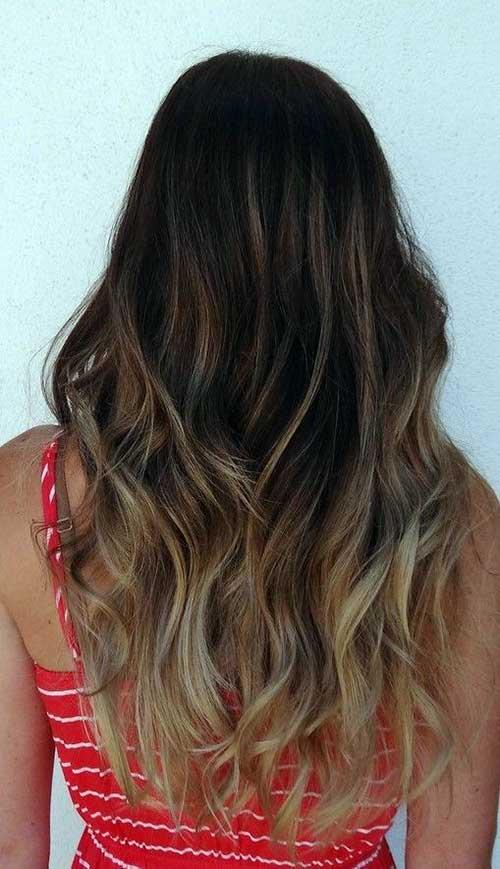 ombre hair em casa no cabelo negro