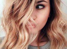 cabelo cor de mel de brincalhona