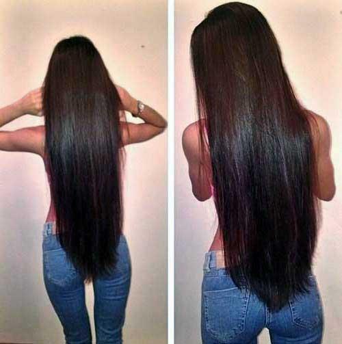 cabelo preto longo bonito e saudavel