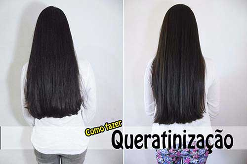 queratinizacao para os cabelos bonitos