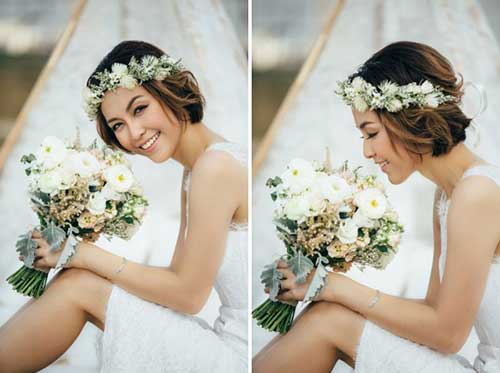 39 Penteados Para Noivas De Cabelo Curto Fotos Tutorial