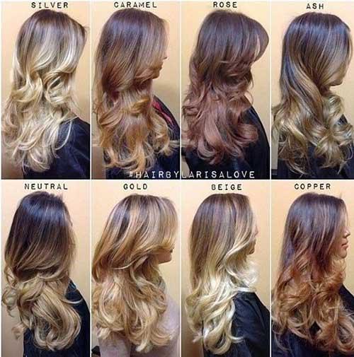 tutorial passo-a-passo de ombre hair