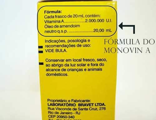formula do vitaminico-mineral animal