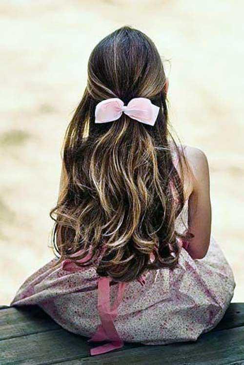 penteado infantil para meninas