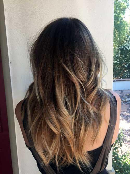 ombre hair fica lindo em cabelo castanho