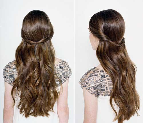 Muito TOP 50 Penteados Semipresos: Tutorial Passo-a-passo Com Fotos! ME17