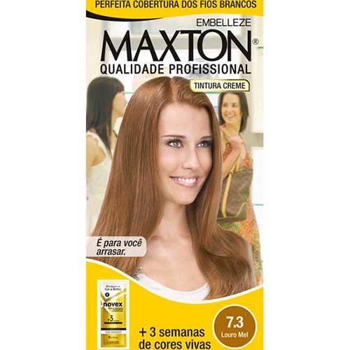 cabelos loiro mel com tinta maxton