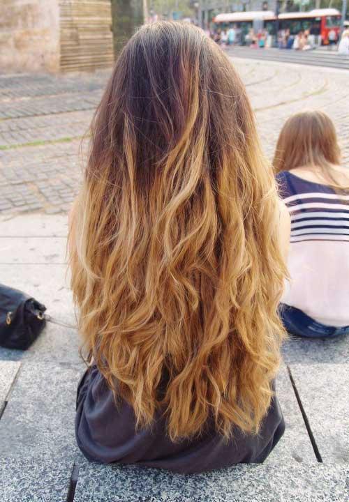 cabelos loiro mel com mechas californianas