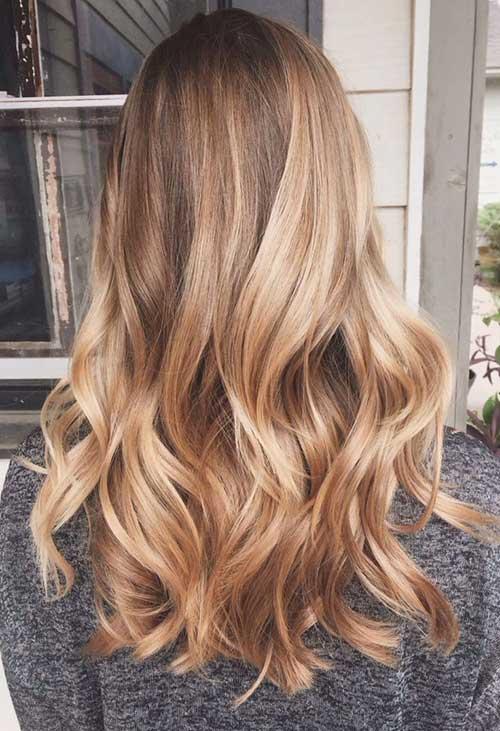 cabelos loiro mel em imagem do tumblr