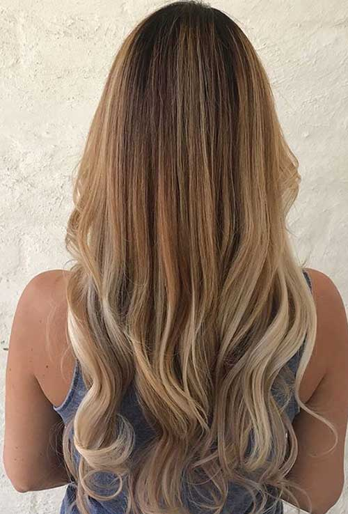 cabelo mel loiro com pontas cream soda