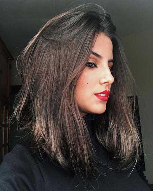 corte de cabelo medio chanel