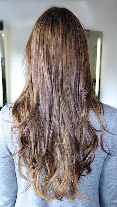 cabelo com mecha nas pontas