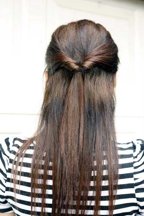 cabelos meio soltos para usar todo dia
