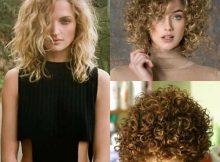 cabelos chanel com cachos loiros