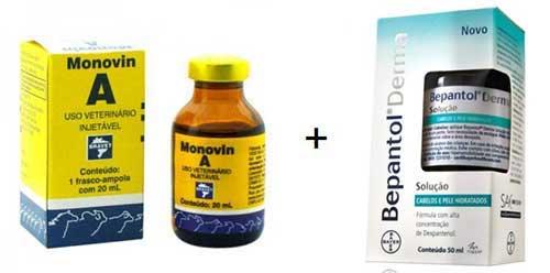 s ingredientes ativos principais do shampoo bomba com monovin a