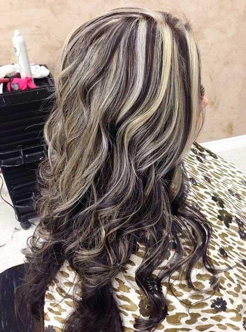como fazer luzes platinadas em cabelos escuros na touca