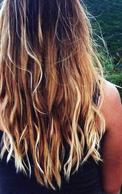 como fazer ombre hair em casa com estilo queimado de sol
