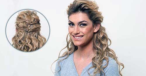 cabelos com ondas no comprimento