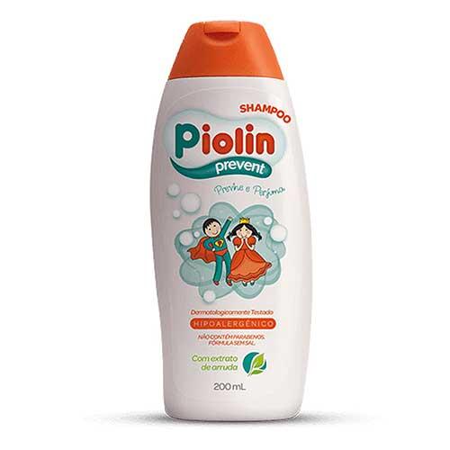 shampoo piolin previne contra piolho