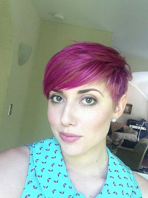 cabelo joaozinho rosa forte