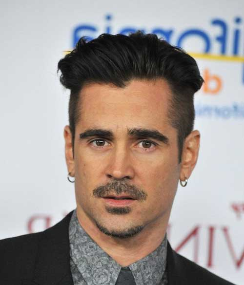 o cabelo undercut sendo usado por ator de hollywood