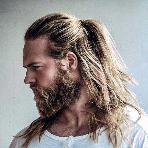 30 cabelos grandes masculinos tipos e dicas pra ele crescer r pido. Black Bedroom Furniture Sets. Home Design Ideas