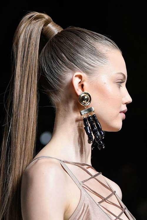 cabelo para desfile de moda