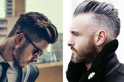undercut combina com barba