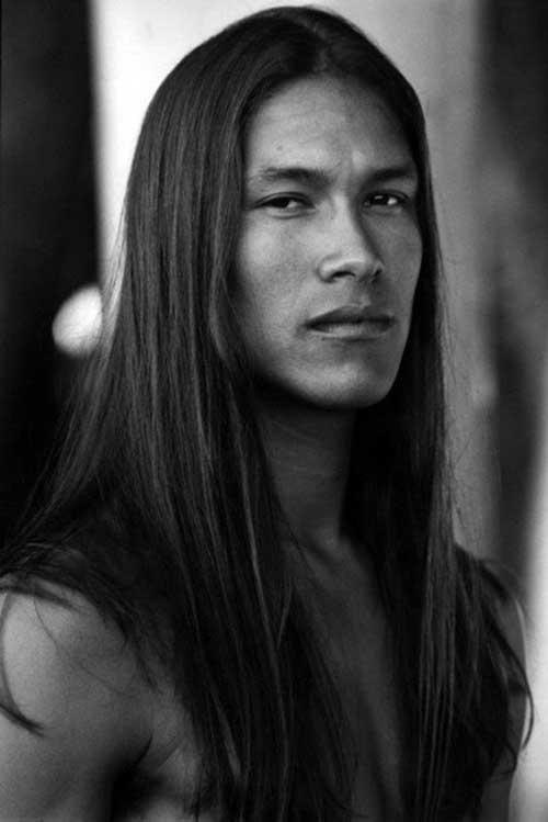 cabelo liso de indio grande