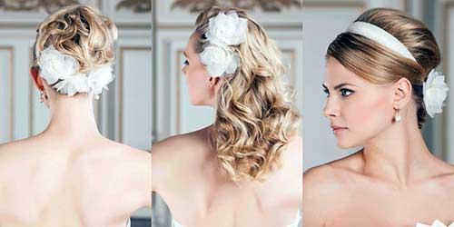 penteado lindo para noiva de cabelo loiro
