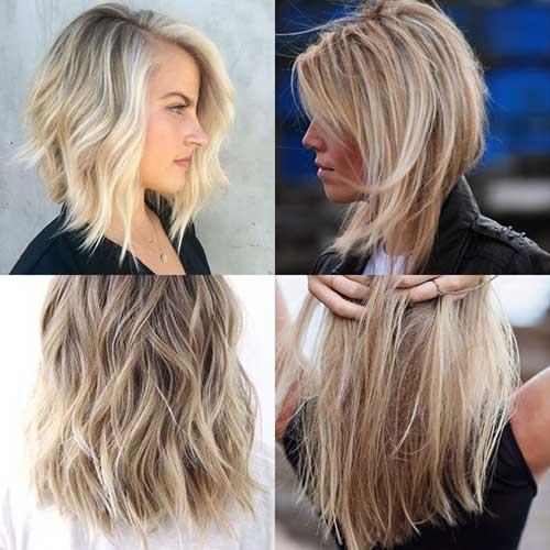 cabelos chanel curtos atras e compridos na frente