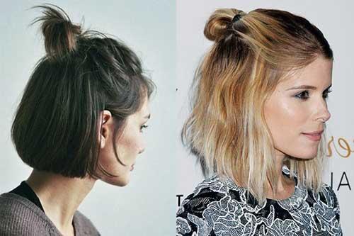 pra cabelo curto e cabelo medio