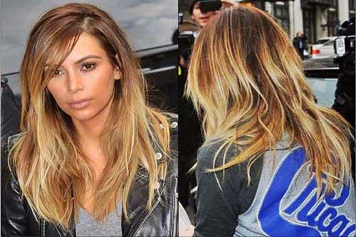 cabelos pra dentro da kim kardashian