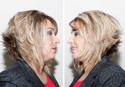 cabelo chanel para senhoras de fio fino