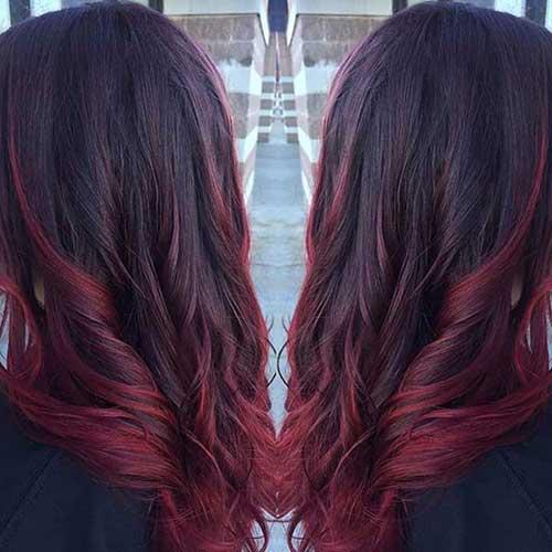 39 Cabelos Vermelhos Escuros Fotos E Passo A Passo